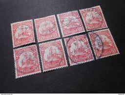 D.R.32a  71/2H   Deutsche Kolonien (Deutsch-Ostafrika) 1906 Mi € 2,00 - Einzelpreis Pro Marke/Price For 1 Stamp - Colony: German East Africa