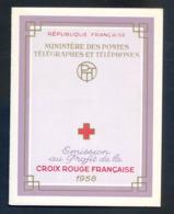 REF081019C CARNET CROIX ROUGE 1958 LUXE .... Sans Aucun Défaut - Rode Kruis