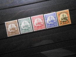 D.R.Mi 30 L/31/32a/33b/34*MLH  Deutsche Kolonien ( Deutsch-Ostafrika ) 1905/1920  Mi 9,60 € - Colony: German East Africa