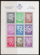 Belgique BF 1941 Yvert 10 ** B - Blocks & Sheetlets 1924-1960
