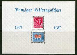 Dantzig BF 1937 Yvert 3 ** TB - Dantzig