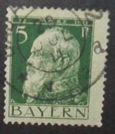N°1490B TIMBRE ANCIENS - ETATS BAYERN OBLITERE - Bavaria