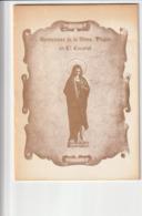 APARICIONES DE LA STMA. VIRGEN EN EL ESCORIAL - 1983 (24X17) - Godsdienst & Occulte Wetenschappen