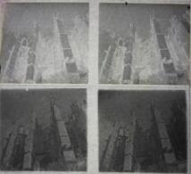 Deux Plaques De Verre Stéréoscopiques - Beauvais - La Cathédrale - Glass Slides