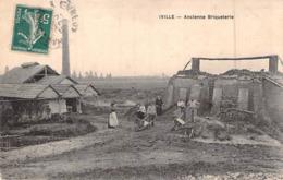 C P A 27] Eure  Iville Ancienne Briquetterie - France