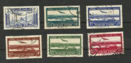 Syrie Poste Aérienne N°81, 88 à 92 Cote 4.10 Euros - Airmail
