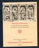 REF081019B CARNET CROIX ROUGE 1960 LUXE .... Sans Aucun Défaut - Croix Rouge