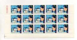 ISOLA NORFOLK - 1964 - Natale - Blocco Da 15 Valori Da 5 D Con Bordo Di Foglio Angolare -  Nuovi ** - (FDC17403) - Isola Norfolk