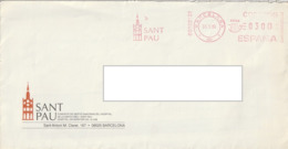Matasellos Postmark Flamme - SANT PAU 1995 - Marcofilia - EMA ( Maquina De Huellas A Franquear)