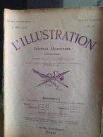 L'Illustration 9 Mars 1918 Guerre 14/18 Alsace Lorraine, Américains à Paris, Vitraux De Reims, Navires En Bois - Giornali