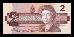 Canada 2 Dollars Elizabeth II 1986 Pick 94b SC UNC - Canada
