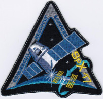 ISS Expedition 59 Dragon Spx-17 CRS NASA International Space Station Embroidered Patch - Patches