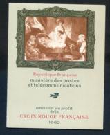 REF081019B CARNET CROIX ROUGE 1962 LUXE - Croix Rouge