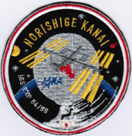 JAXA ISS Exp 54/55 Norishige Kanai Japan Aerospace Exploration Agency Space Embroidered Patch - Patches