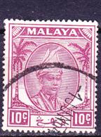 Malaiische Staaten V - Pahang - Sultan Abu Bakar Ri'ayad'din (MiNr: 51) 1950 - Gest Used Obl - Pahang