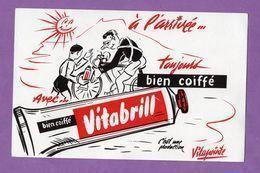 Buvard Vitabrill A L Arrivée Toujours Bien Coiffé Production Vitapointe - Parfum & Cosmetica