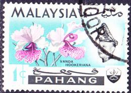 Malaiische Staaten V - Pahang - Orchide (Vanda Hookeriana) (MiNr: 76) 1965 - Gest Used Obl - Pahang