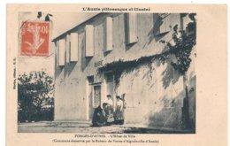 Cpa 17 Forges D'Aunis Hotel De Ville  Animée - Francia