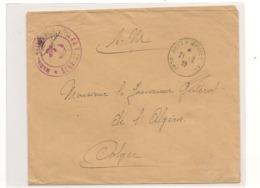 FRANCE 1939 ENVELOPPE F.M.POSTE NAVALE MARINE NATIONALE - Marcophilie (Lettres)