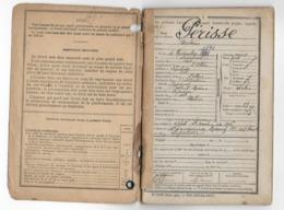 03 - LAPALISSE - MILITARIA  -  LIVRET MILITAIRE - Avec Carte Recrutement - Parcours Du Soldat - 1916 - Documenti