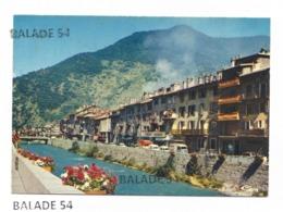 CPM - MOUTIERS (73) L'Isère Et Ses Quais Fleuris - Moutiers