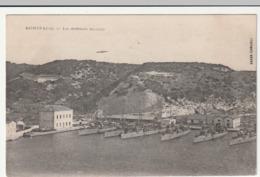 CP - CORSE Du SUD - BONIFACIO : La Défense Mobile - CP Taxée , Troupes Mobilisées (1915) - Andere Gemeenten