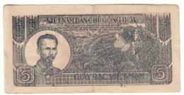 Vietnam 5 Dong 1948 - Vietnam