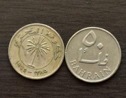 Bahrain 50 Fils 1965 Km5 COIN CURRENCY ASIA - Bahrein