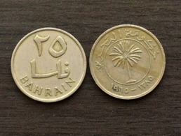 Bahrain 25 Fils 1965 Km4 COIN CURRENCY ASIA - Bahrein