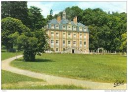 Carte Postale 27. Aubevoye-Gaillon  Le Chateau Domaine De Tournebut  Trés Beau Plan - Aubevoye