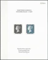 GROSSBRITANNIEN 1990 Mi-Nr. 1 + 2 Sonderdruck - Souvenir Sheet - Cinderellas