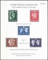 GROSSBRITANNIEN 1990 Mi-Nr. 220 Sonderdruck - Souvenir Sheet - Cinderellas