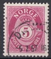 Norvegia 1941 Sc. 190 Post Horn Used Norway - Norvegia