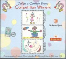 GROSSBRITANNIEN 1998 Competition Winners Sonderdruck - Souvenir Sheet - Cinderellas