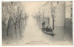 94 - ALFORTVILLE - Crue De La Seine - Vue Prise De La Passerelle - ELD - Alfortville