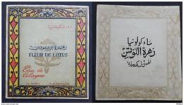 EGYPT - OLD LABELS (FLEUR DE LOTUS / EAU DE COLOYNE) -  VVV RARE - Labels