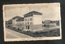 TORINO - SCUOLA DUCA Degli ABRUZZI (Viaggiata) 1942 - Education, Schools And Universities