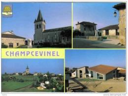 Carte Postale 24. Champcevinel  Le Bourg  Trés Beau Plan - Francia