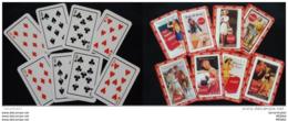 Vintage COCA COLA Playing Card .complete Unused Set .VV RARE Item - Coca-Cola
