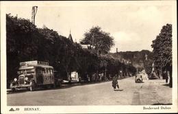 Cp Bernay Eure, Boulevard Dubus - Francia
