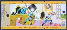 Tintin Kuifje - 6 Telecards China Telecom CHI TEL-TIP2006-209 - Stripverhalen