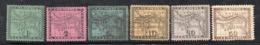 APR312 - PANAMA Dip COLOMBIA 1887 , Serie Yvert N. 5/10 Nuova Senza Gomma (2380A) - Panama