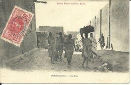 - MALI  -  TOMBOUCTOU  -  UNE RUE - Mali