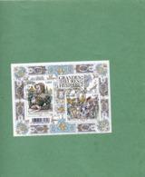 FRANCE    Feuillet 2 Timbres 1,40 €  2016   Y&T: F5067   Les Grandes Heures De L'Histoire De France Oblitéré - Sheetlets