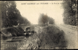 Cp Saint Maurice Sur Fessard Loiret, Pont Du Canal - Autres Communes