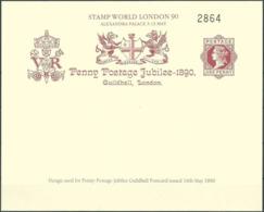 GROSSBRITANNIEN 1990 Stamp World London 90 Postkarte - Cinderellas