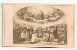 IMAGE RELIGIEUSE OU PHOTO ANCIENNE ? COLLEE SUR CARTON /  B974 - Religion & Esotérisme