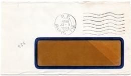 PARIS 118 / 1953 =  FLAMME PP à DROITE = FLIER Muette '7 Lignes Ondulées' - Marcofilia (sobres)
