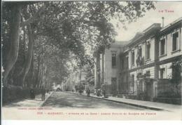 Tarn : Mazamet, Avenue De La Gare, Jardin Public Et Banque De France - Mazamet