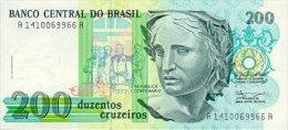 Brasil 200 Cruzados  (1990) Pick 229 UNC - Brasilien